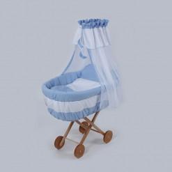 Cos-bebe-din-rachita-Ridicat-albastru