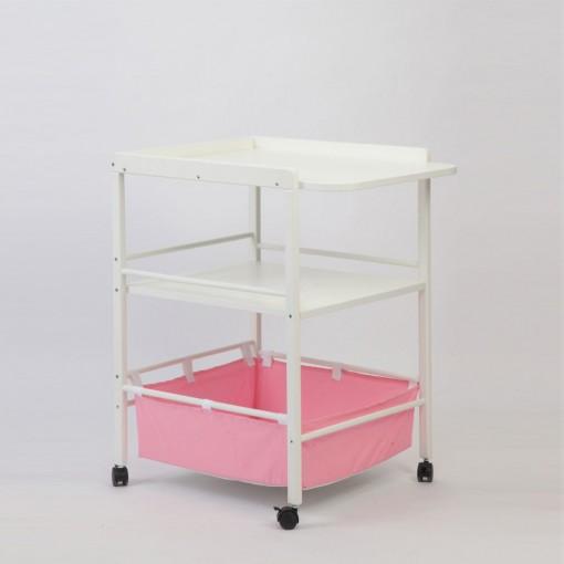 Masa-Infasat-din-Lemn-patut-bebe-design-roz