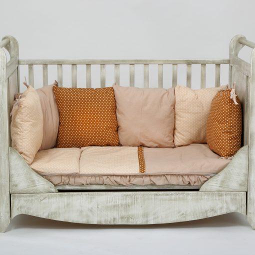 patut bebe Vintage din lemn integral 2