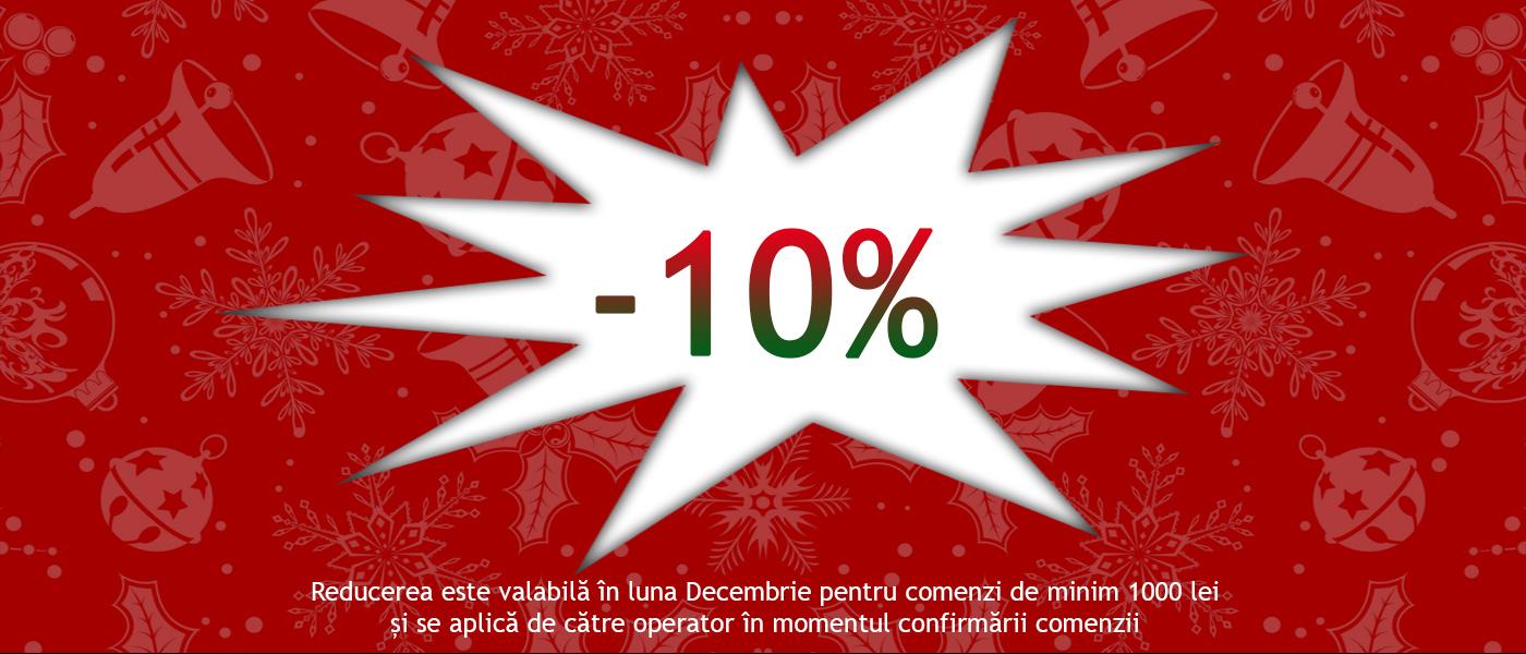 Discount Decembrie 10%