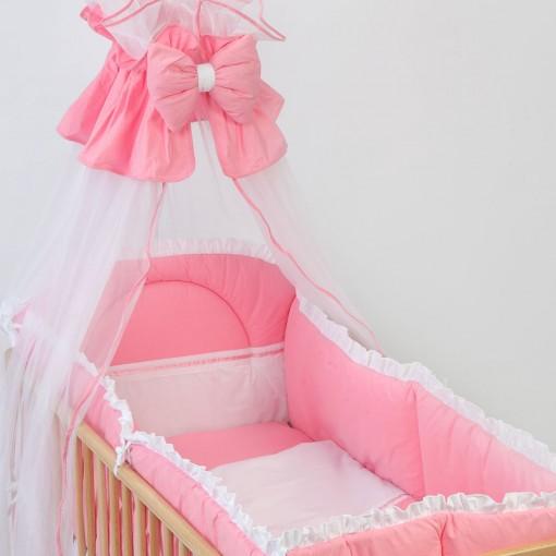 baldachin-voal-bebedesign-patutbebe-roz-simplu
